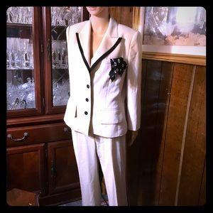 Escada Margaretha Ley made in Germany wool suit 8
